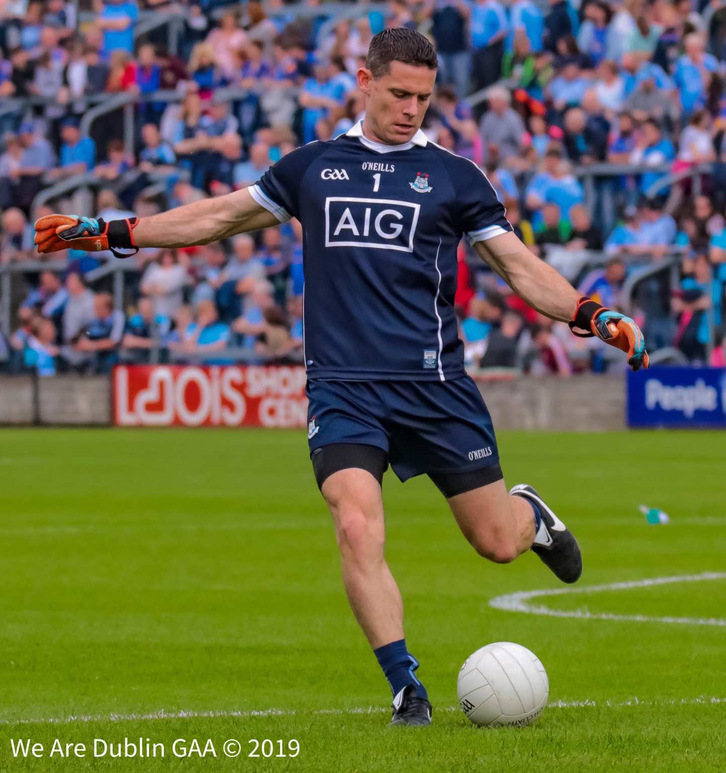 Dublin Captain Stephen Cluxton won the 2019 Player of the Year Award at the PwC All Stars Awards