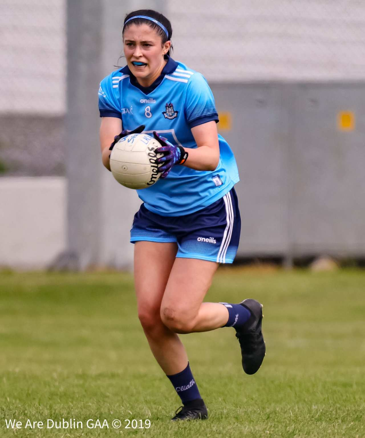 Dublin's Olwen Carey in action during the Leinster Ladies football Championship Final, Olwen is one of 13 Dublin players nominated for an award at the All Stars 2019 banquet.