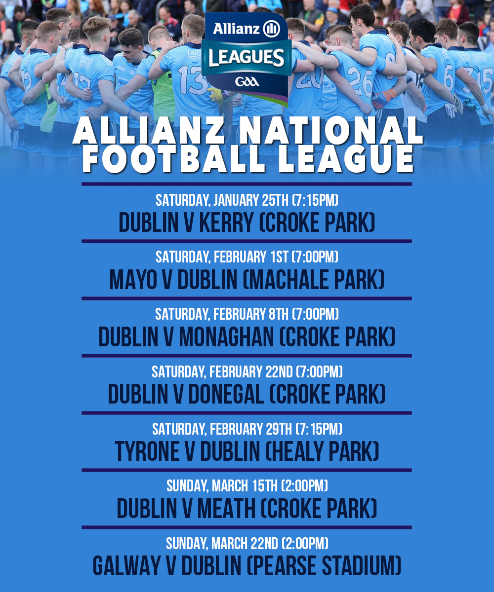 Dublin Senior Footballers - National Football League