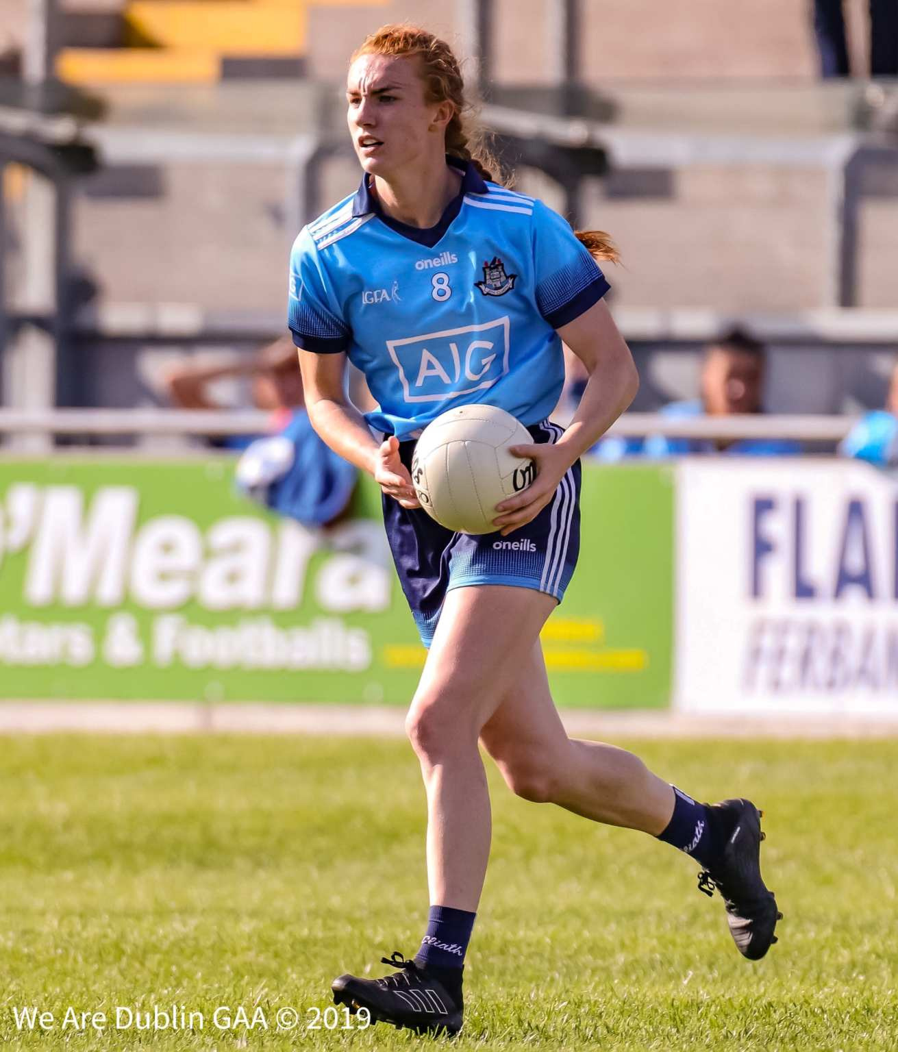 Dublin's Lauren Magee pictured in action against Kerry in the All Ireland championship will Captain the Leinster Interprovincial squad.