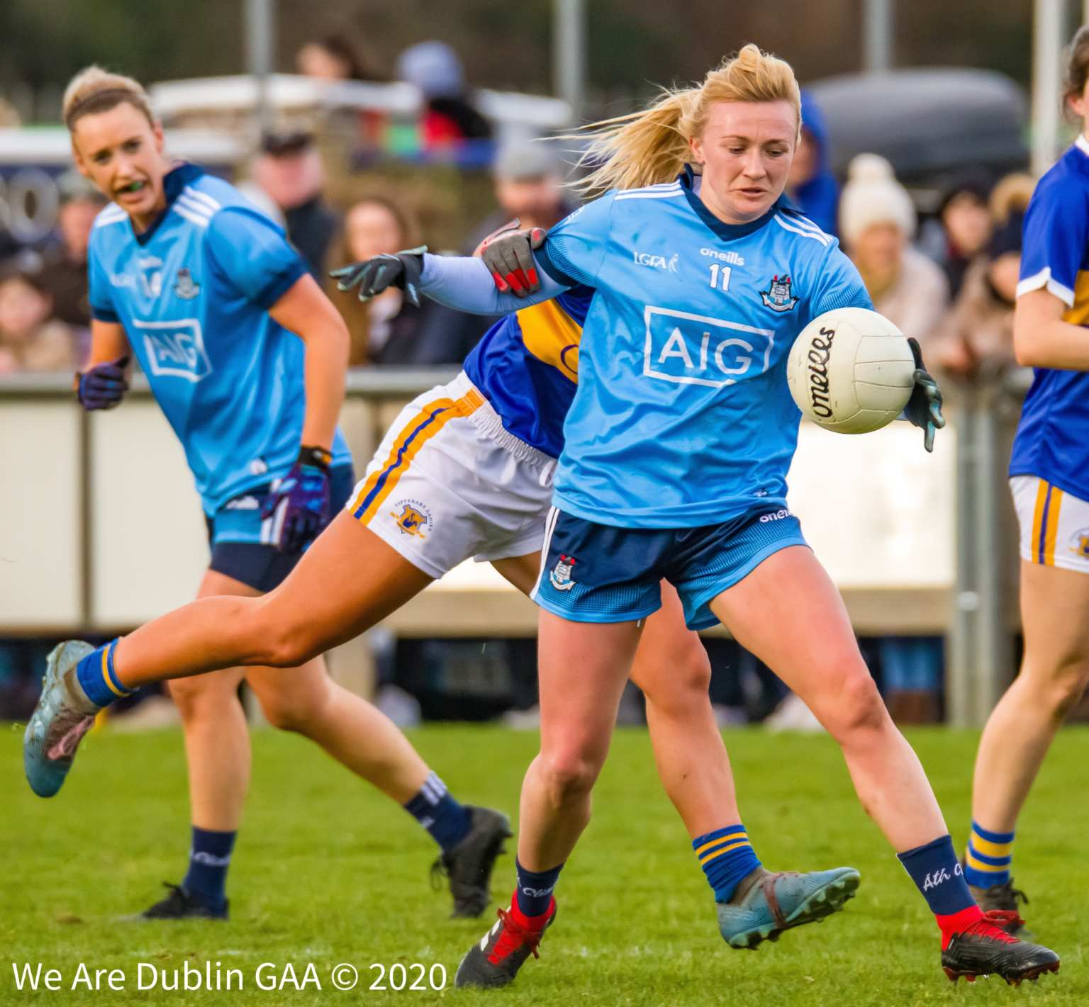 Carla Rowe In Action During the 2020 Lidl Ladies National Football League opening game between Dublin and Tipperary