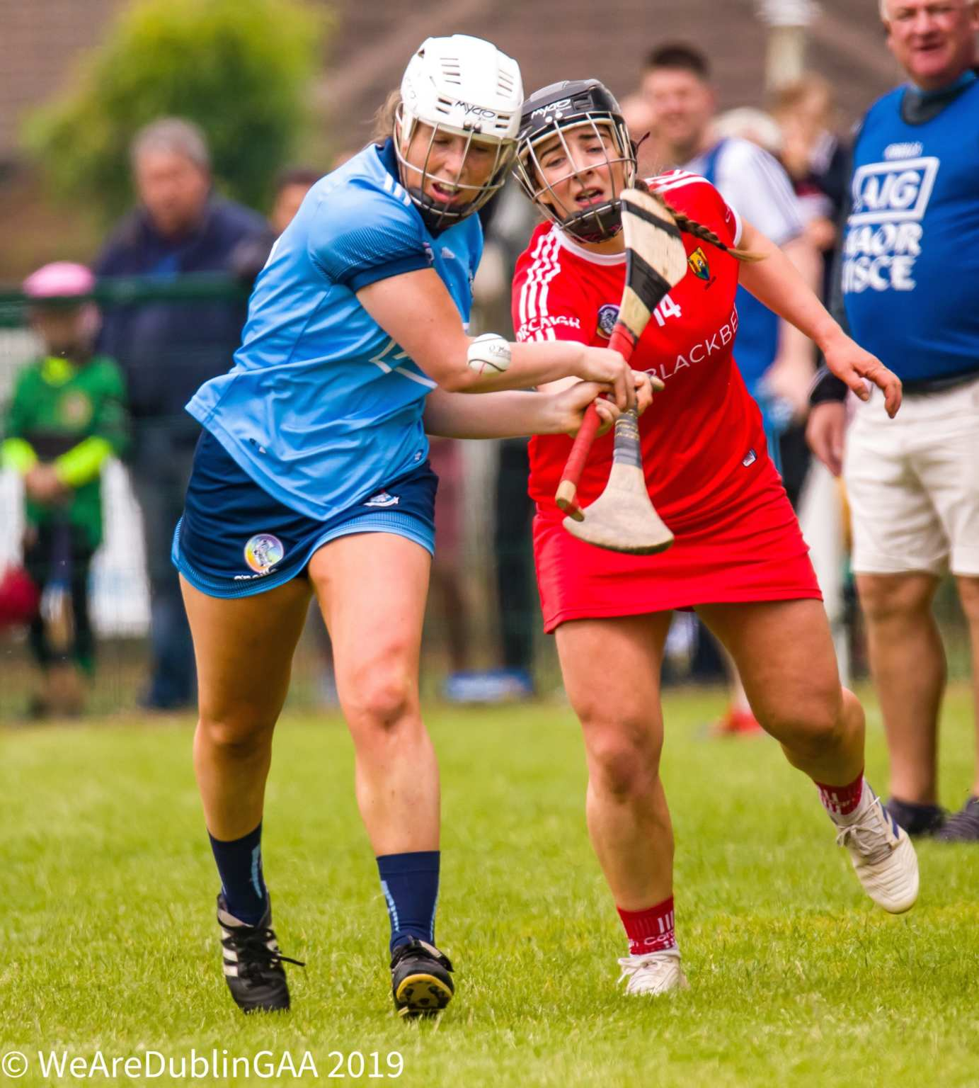 A Dublin Senior camogie attacks the Cork backline, the new management team must insure there is a proper balance between defence and attack for the upcoming season