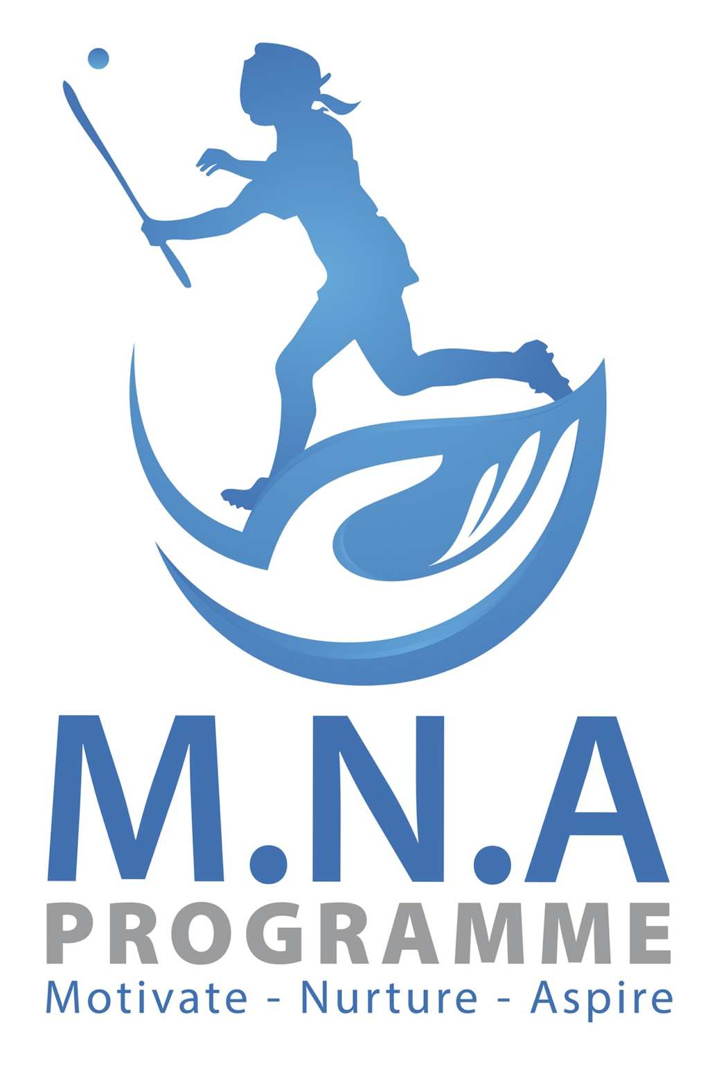Promotional Poster for the Camogie Association's new initiative M.N.A Programme