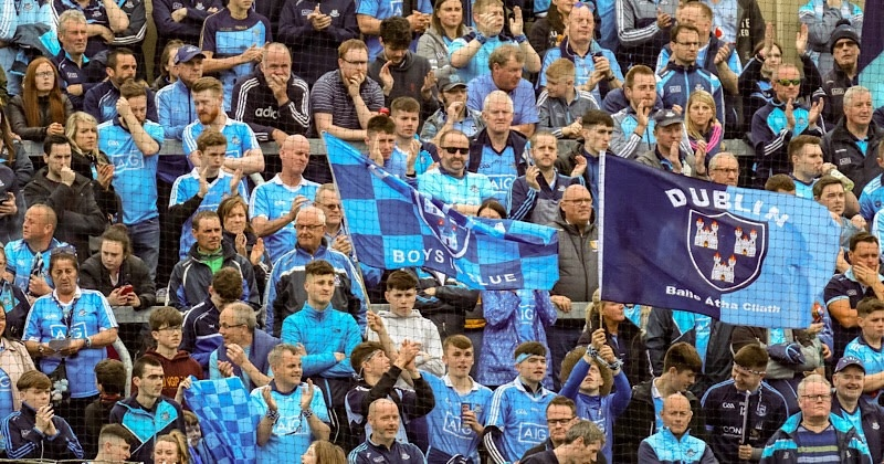 Dublin fans watching a game, fans will be treated to seven games featuring Dublin footballers and hurlers which will be broadcast live on Eir Sport's