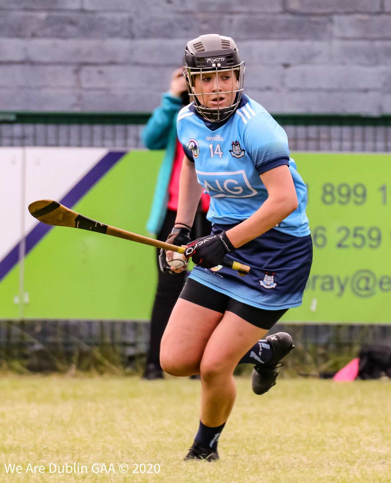 Dublin's Kerrie Finnegan who has been named in the starting 15 by the new Dublin Senior camogie management for the opening National Camogie League clash with all Ireland champions Galway