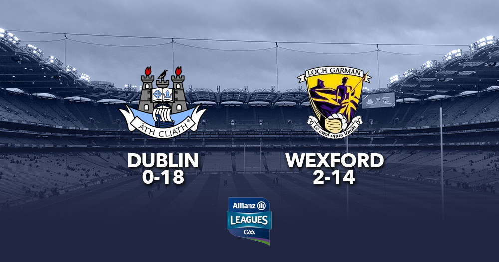 Wexford snatch victory from Dublin