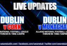 Live Updates - Croke Park Spring Series