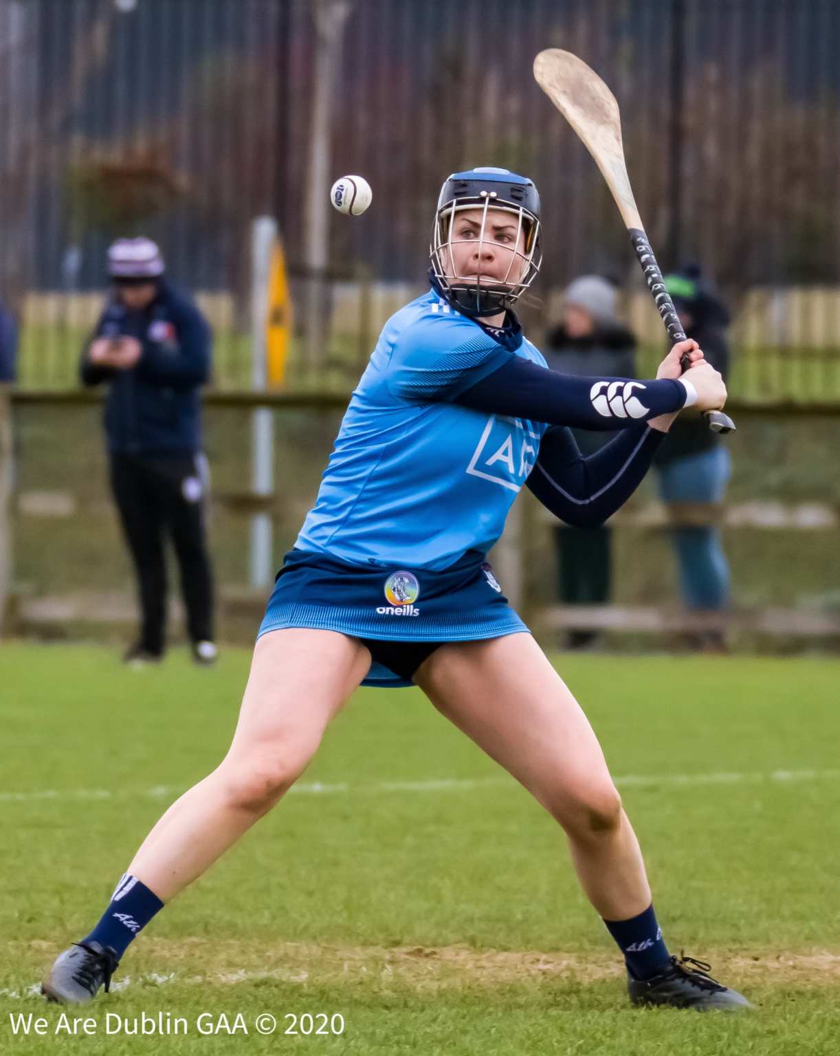 The Dublin Camogie keeper picking out the ball against Galway, the Dublin Camogie Senior Team are unchanged for their must win game against Limerick