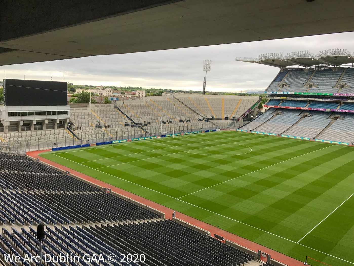 GAA headquarters Croke Park where the GAA, SuperValu and Centra launched a new initiative'Club Together' to help elderly communities during the Covid-19 health crisis.