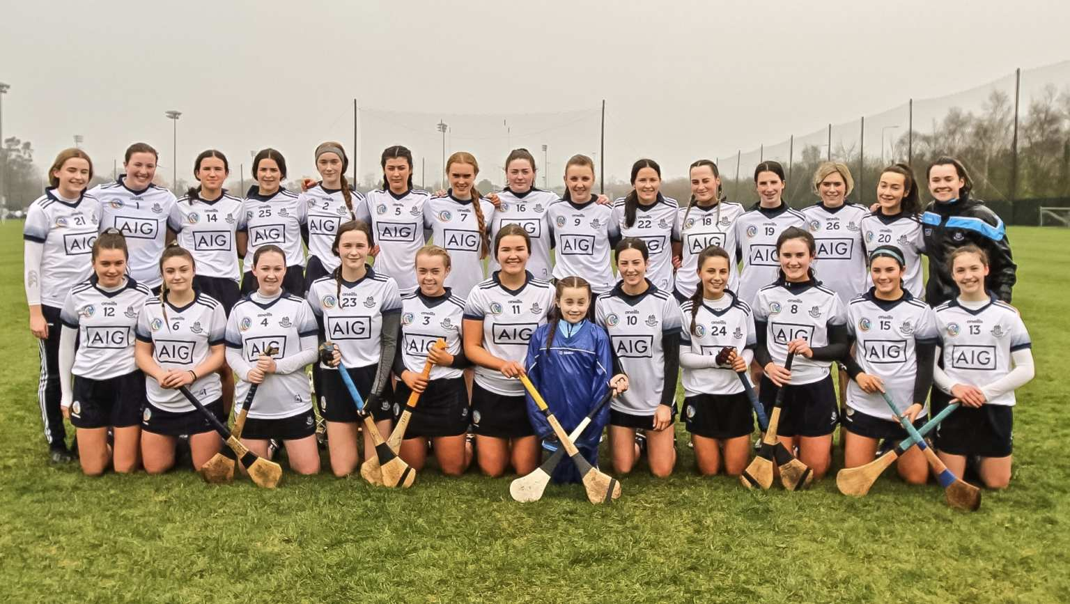 The Dublin minor camogie squad which sees eight changes to the starting team for their All Ireland championship round 2 game against Laois.