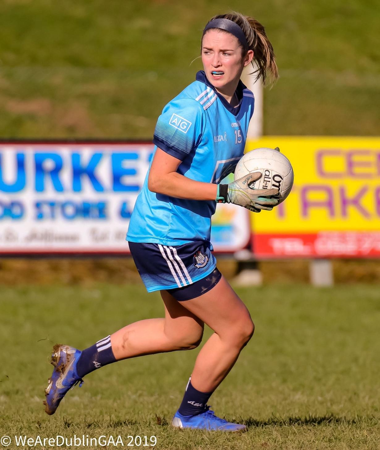 Dublin's Siobhan Killeen has tested positive for Covid-19