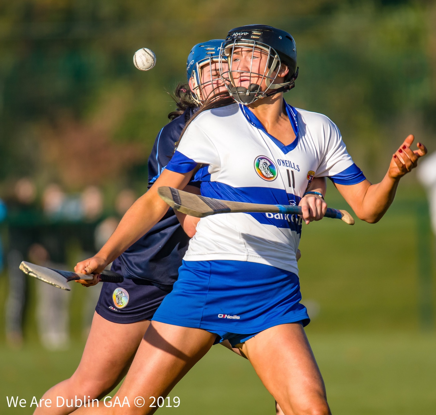 St Vincents camogie star Niamh Hetherton in action during the Dublin club championship final, Niamh has been named on the AIB All Ireland Senior Club Championship Team and won the Provincial Club Player of the year award