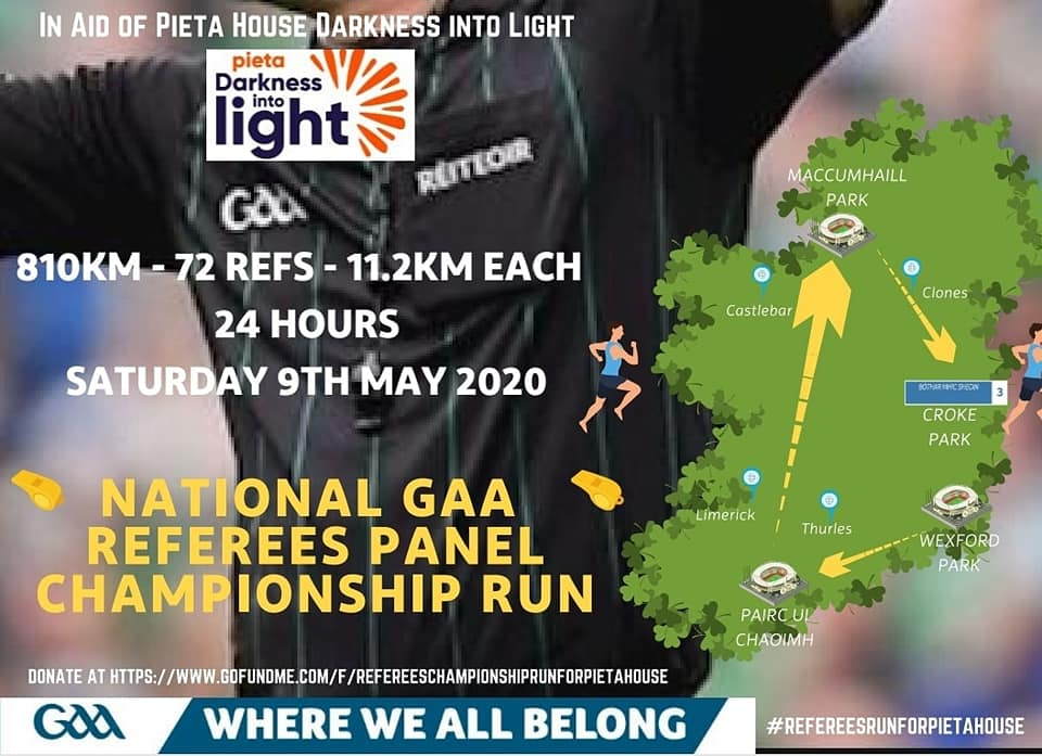 GAA Referees - Darkness Into Light