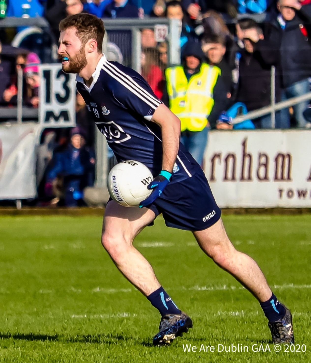 Dublin's Jack McCaffrey has opted out of the Dublin panel for 2020