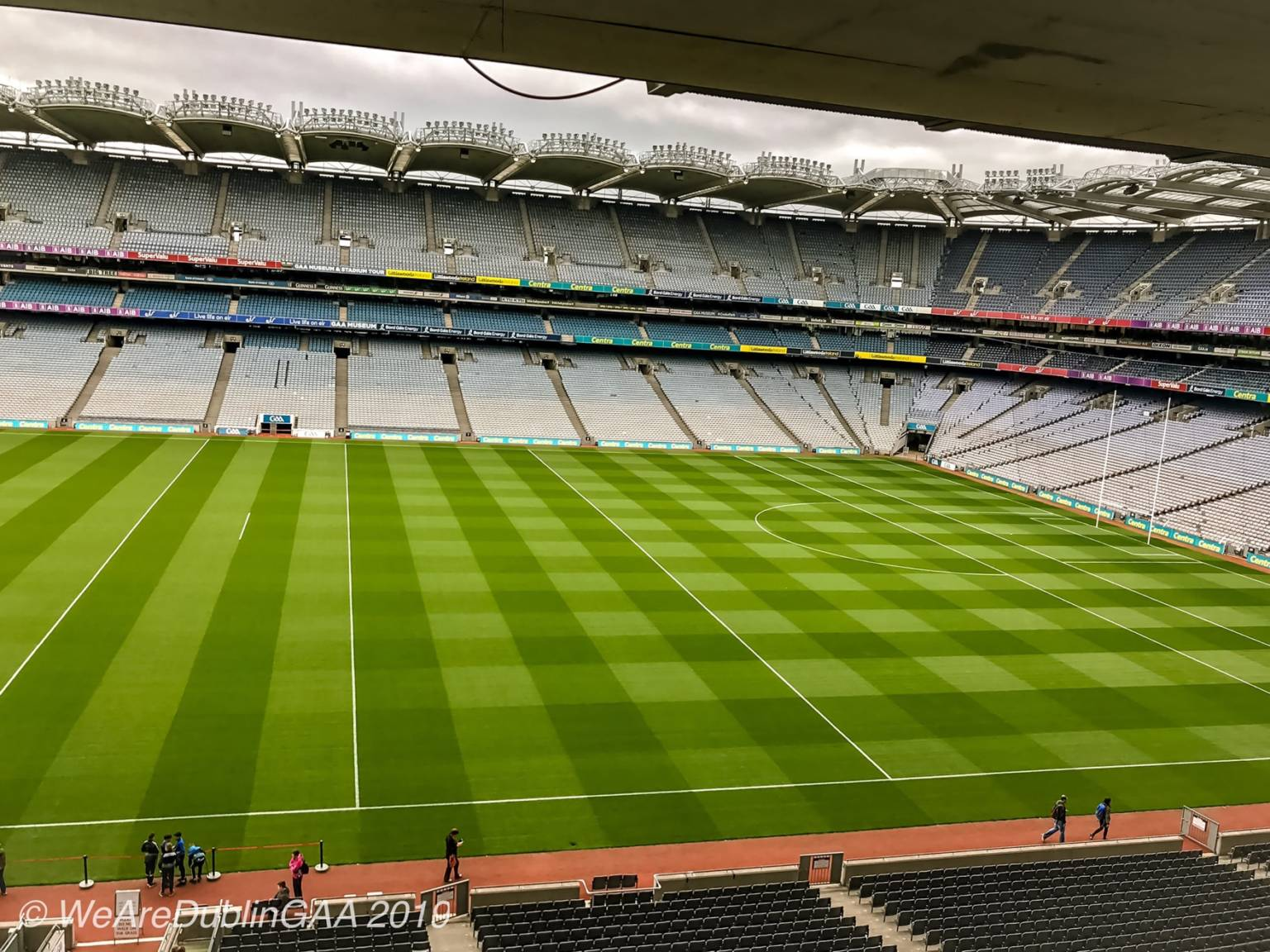 An empty Croke Park awaits the return of action, Gaelic Players Association members are in favour on resumption of a 32 county open draw championship