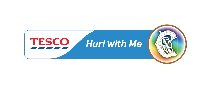 The new banner of the Tesco Hurl With Me Camogie initiative