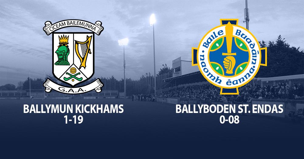 Ballymun Kickhams - Dublin Senior Football Champions