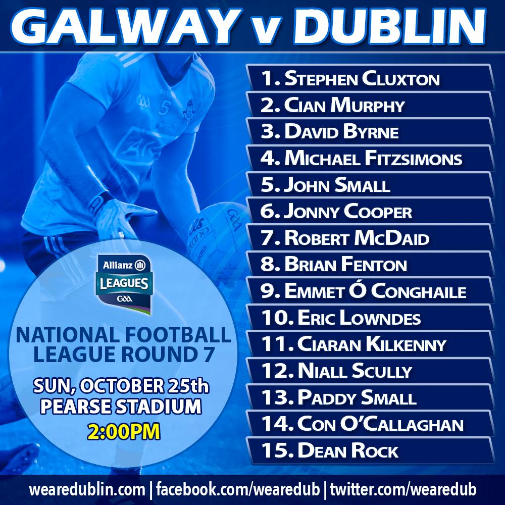 Galway v Dublin