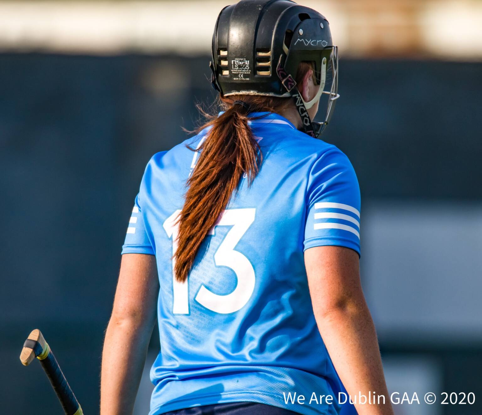 Dublin Senior Camogie player with the number 13 on the back of her jersey waits for the action to restart after the water break, Dublin interim manager Dave Dunning makes four changes to his side for the game against Clare.