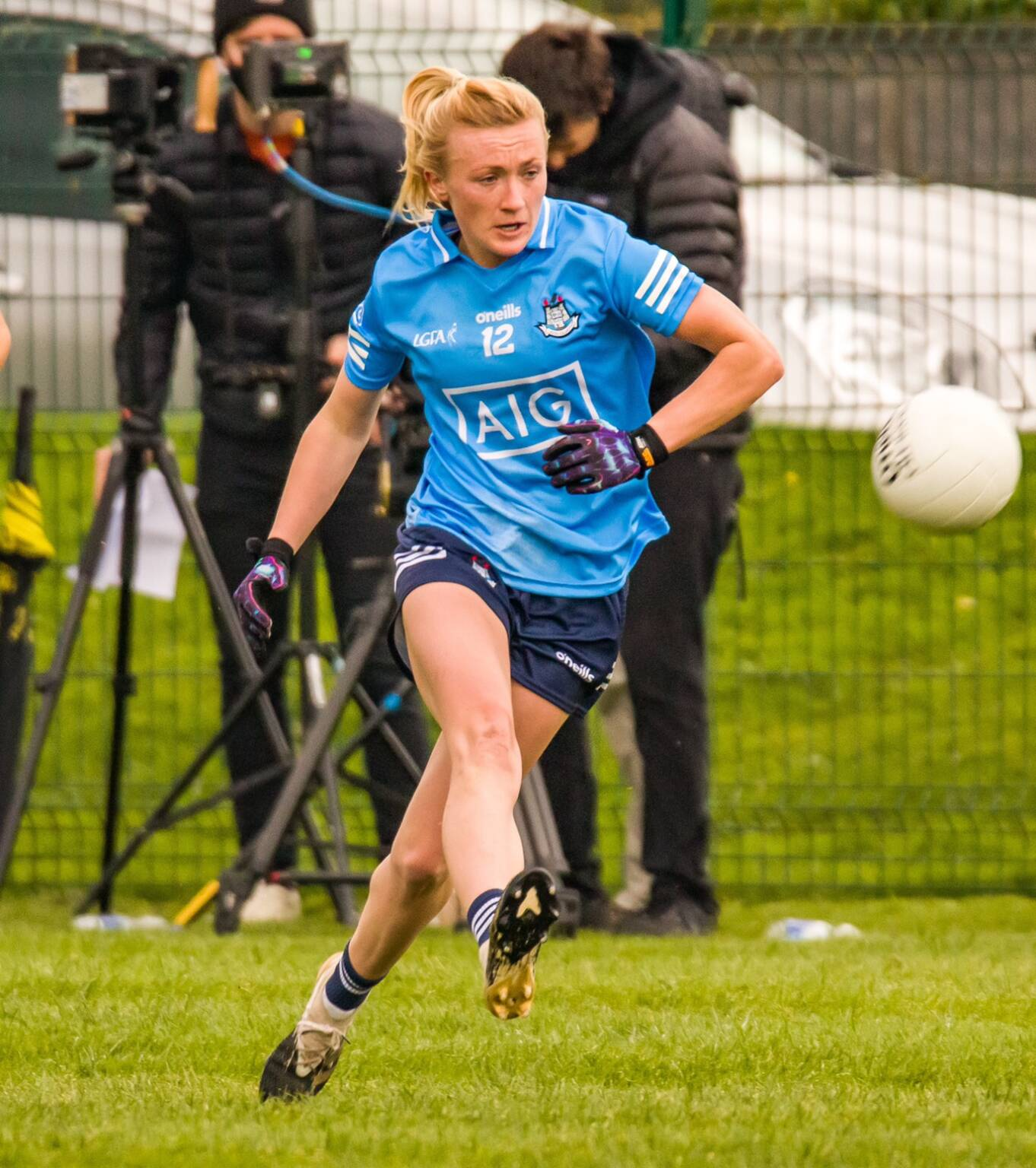 Dublin forward Carla Rowe in action against Waterford.