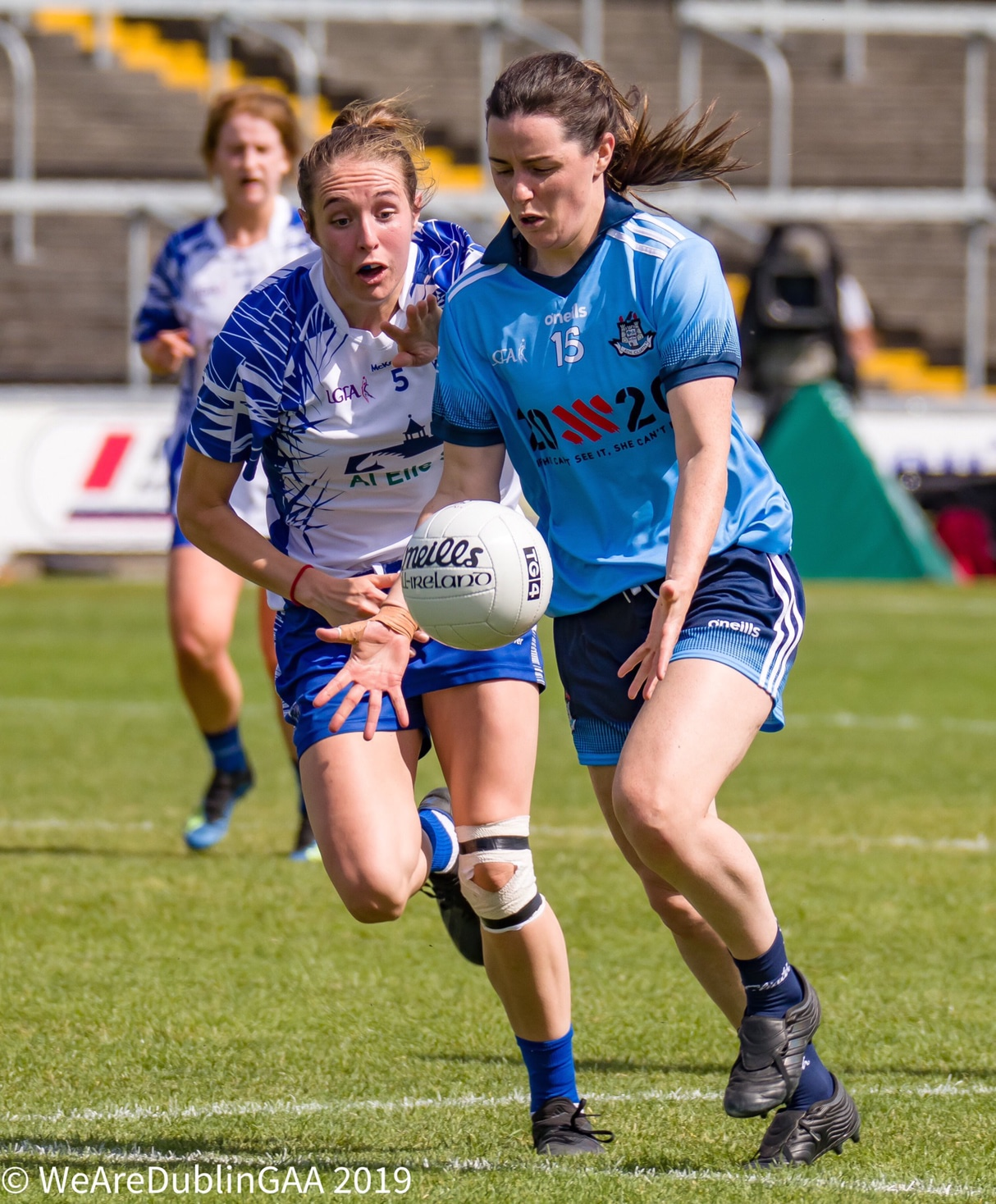 Dublin's Lyndsey Davey in action against Waterford in 2019, There are two changes for Dublin for their 2020 championship meeting with the same opposition.