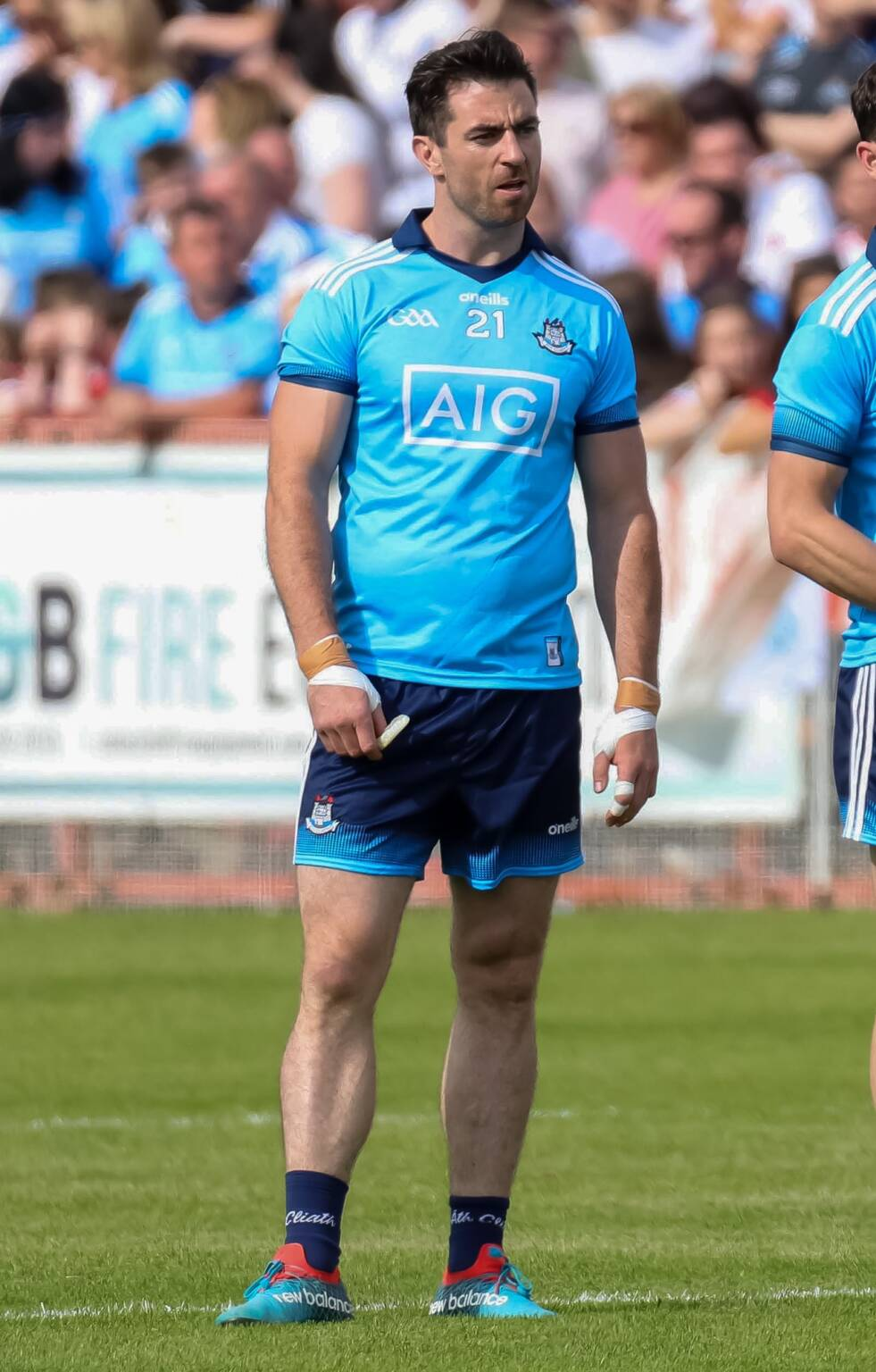 Dublin's Michael Darragh Macauley who announced his retirement from inter-county football ending his glittering 11 years in the Dublin jersey.