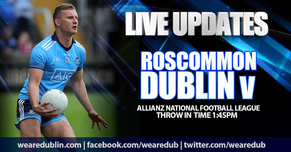 Live Updates - Roscommon v Dublin