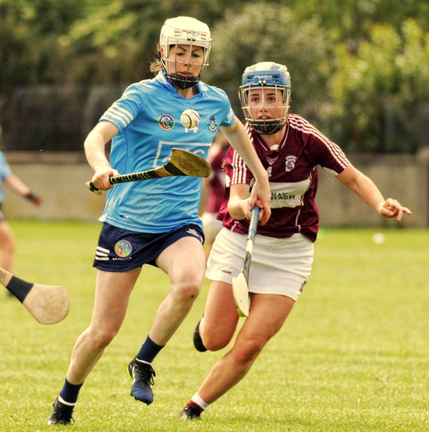 Dublin's Siobhan Kehoe in action against Westmeath, Kehoe was blatantly fouled in the square but didn't get the penalty decision.