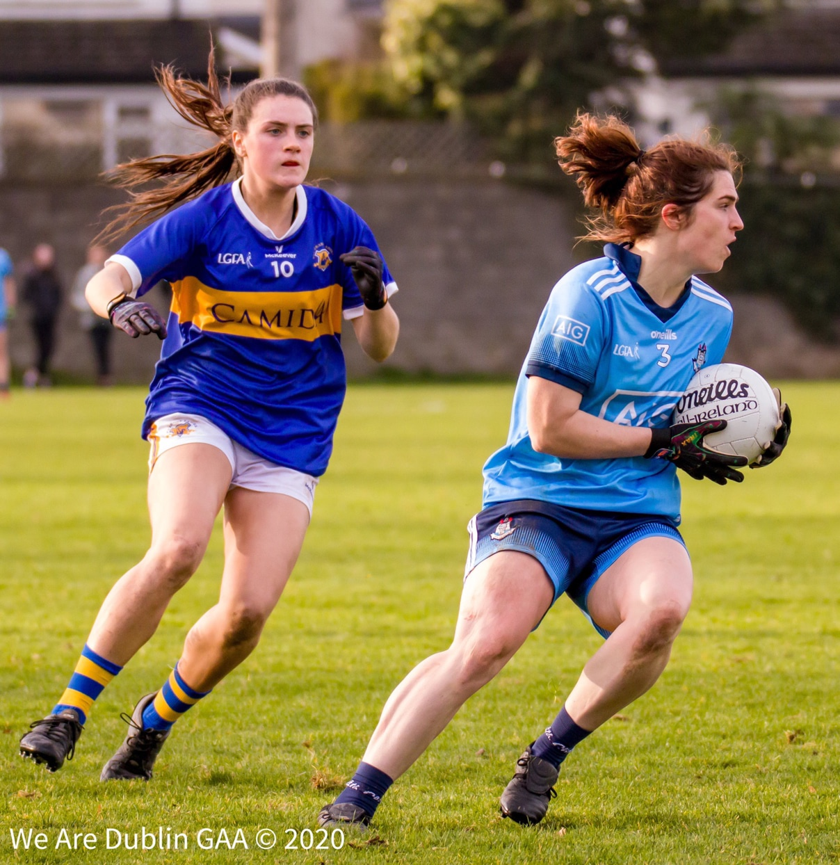 Dublin's Niamh Collins in action against Tipperary in 2020, Collins is among five changes for Dublin for their league clash with the same opposition this weekend.