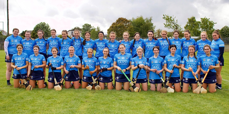 Dublin Intermediate Camogie Squad who play Laois in the Division 2 relegation semi final