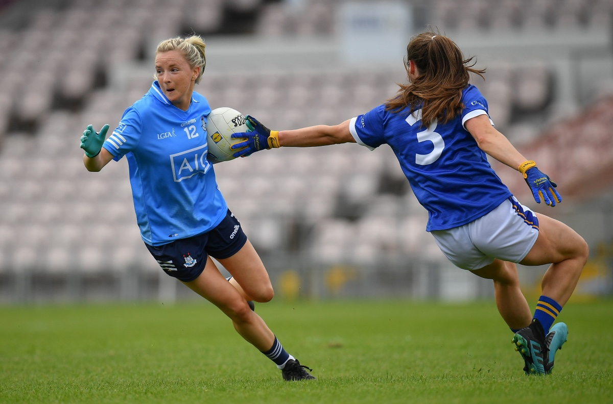 Caoimhe O'Connor in action for Dublin in their win over Tipperary
