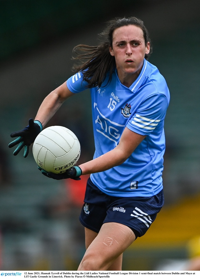 Dublins Hannah Tyrrell in action during her sides win over Mayo as Dublin advanced to the NFL Division 1 final