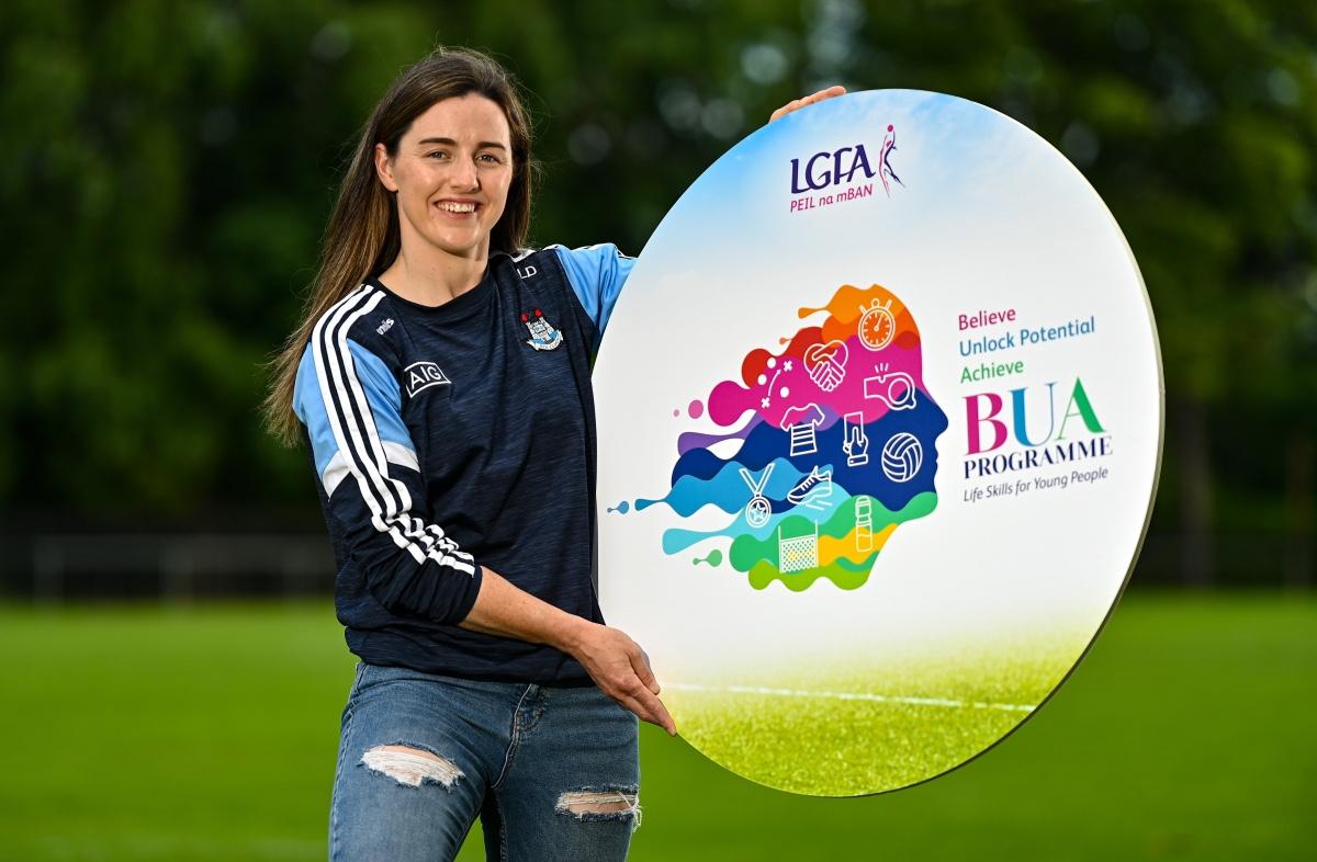 Dublin's Lyndsey Davey who has been announced as an ambassador for the LGFA 'BUA' Leadership programme
