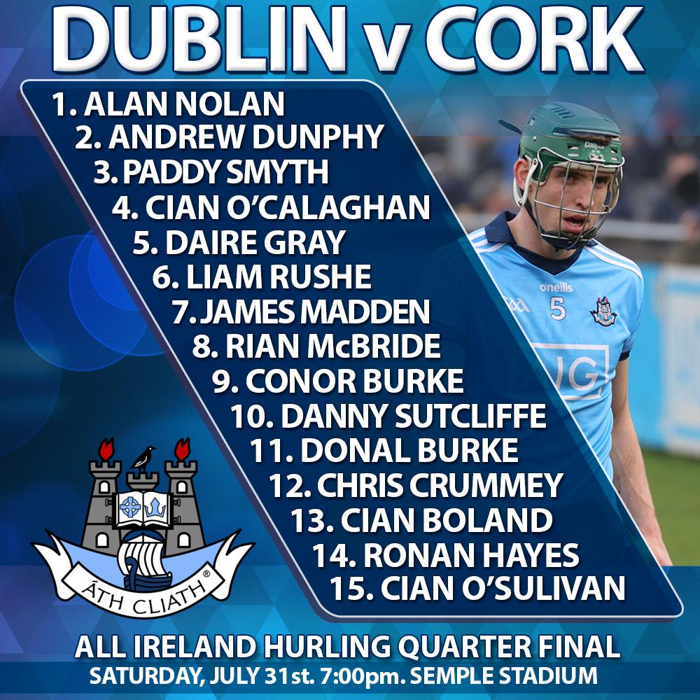 All Ireland Hurling Championship - Dublin v Cork