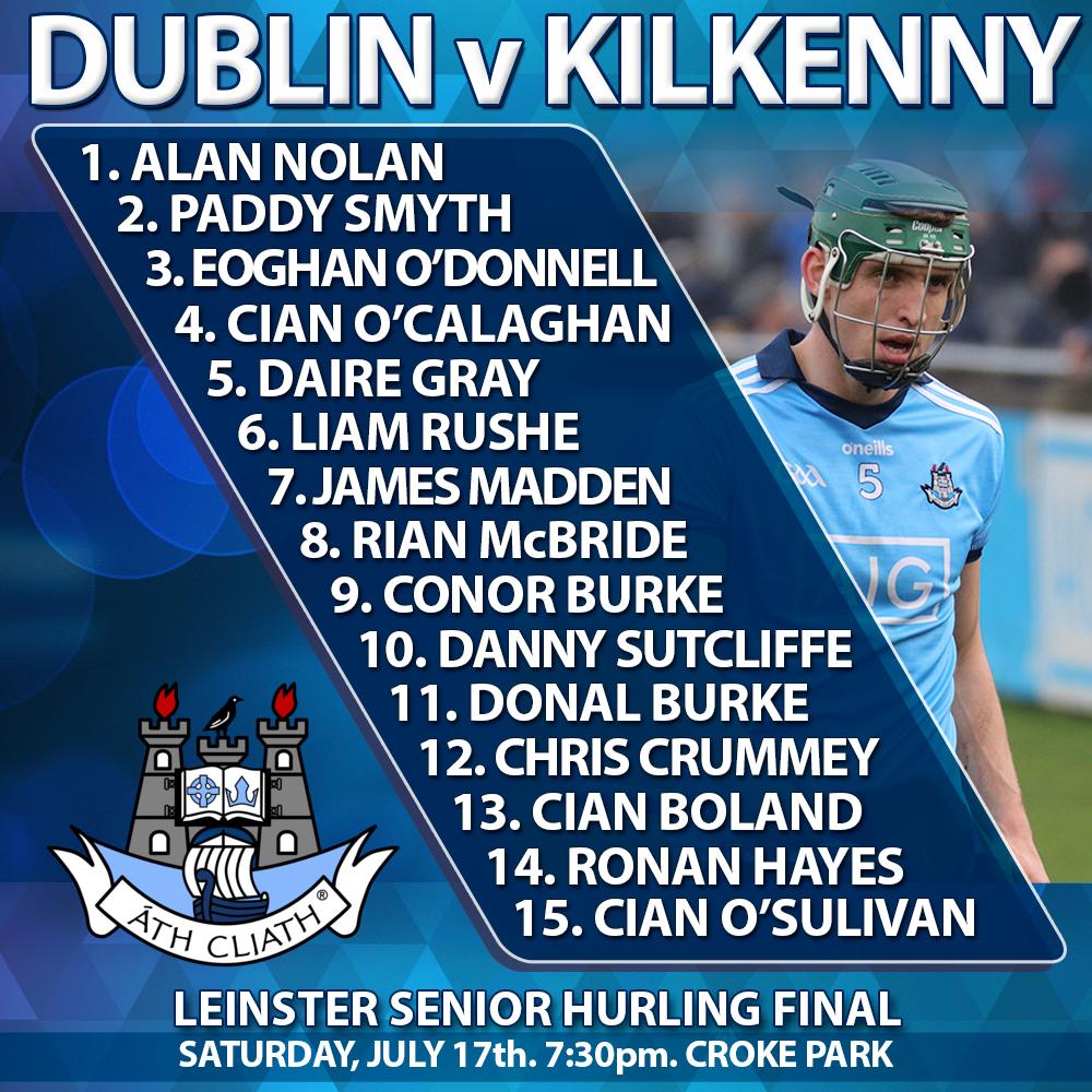 Dublin Senior HUrlers v Kilkenny