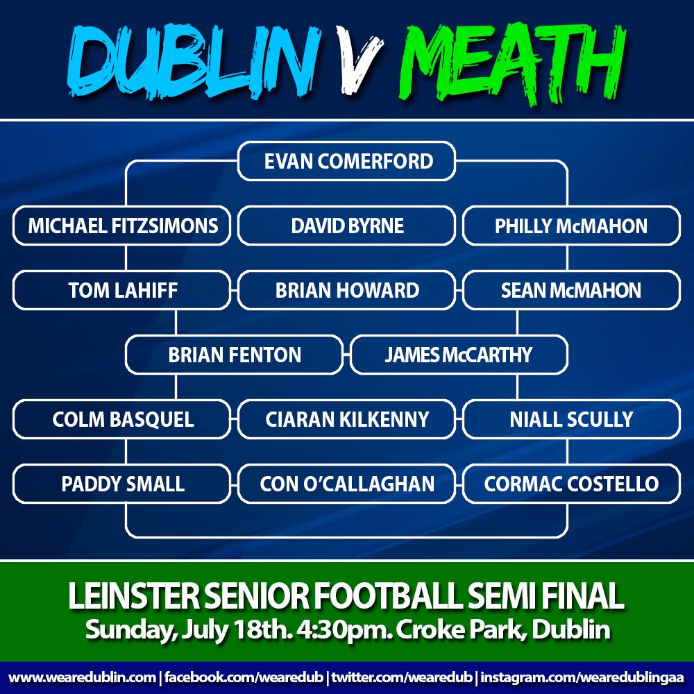 Leinster Semi Final - Dublin v Meath
