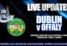 Leinster U20 Football - Live Updates