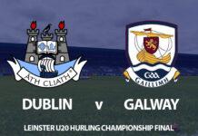 Leinster U20 Hurling Final - Dublin v Galway