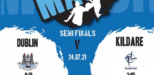 Leinster Minor Football Semi Final - Dublin v Kildare