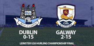 Leinster U20 Hurling - Dublin v Galway