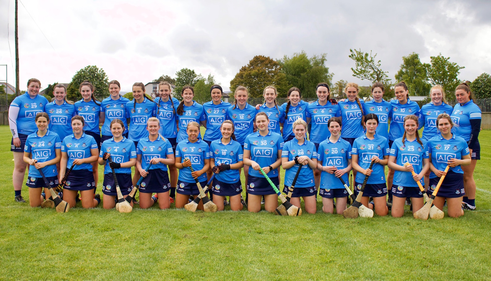 The Dublin Intermediate squad pictured before a game, the Dublin Inters opening championship game is tomorrow against Meath