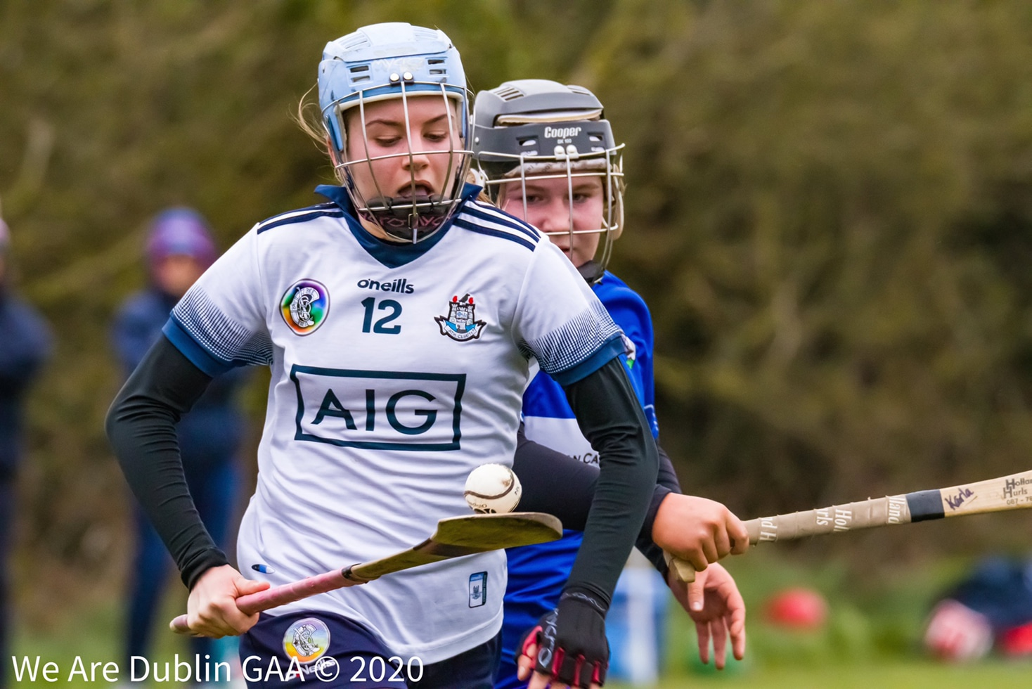 A Dublin minor Camogie player in action against Laois in 2020, the Camogie Association has announced the 2021 All Ireland Minor Championship will begin this Sunday the 25th of July.