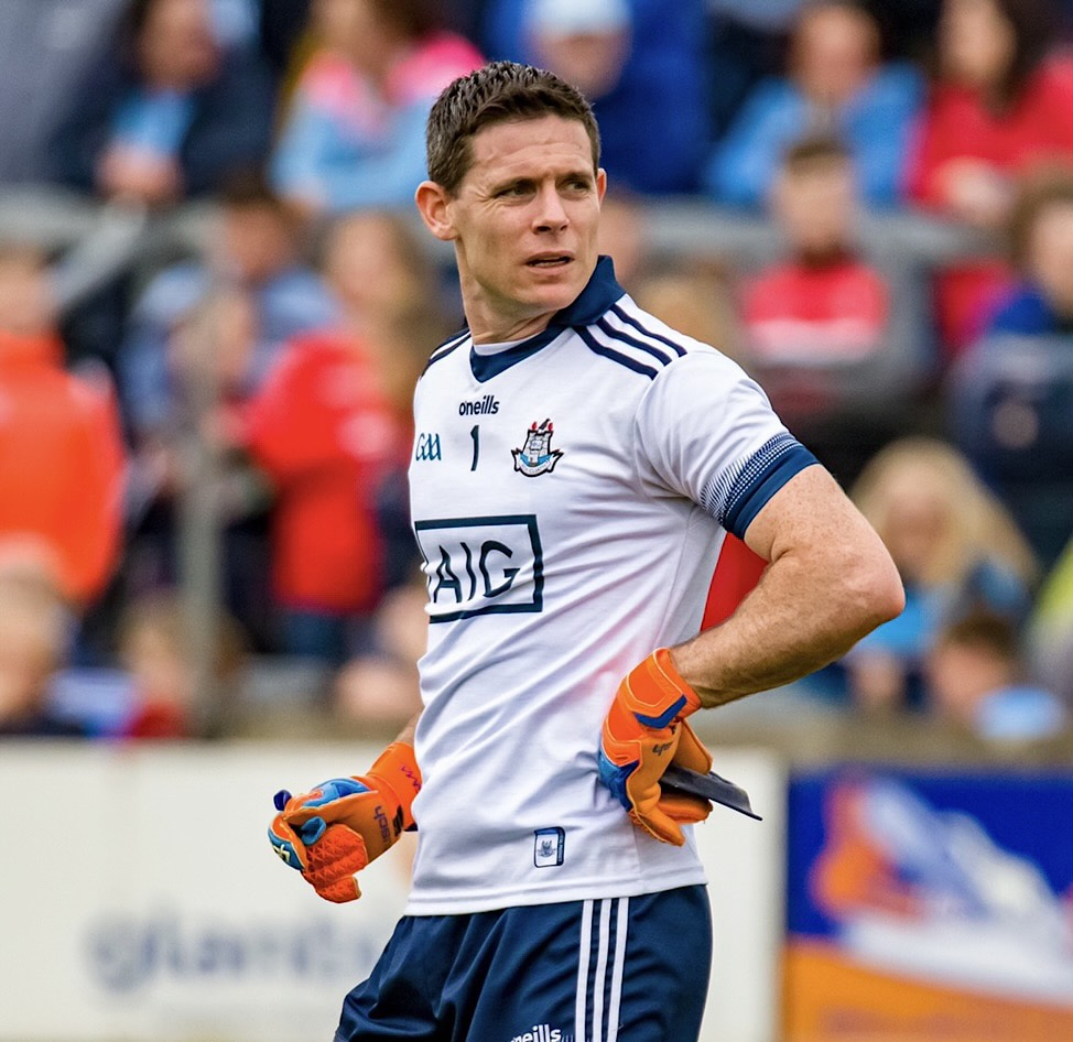 Image of Dublin Captain Stephen Cluxton who has stepped away from the panel.