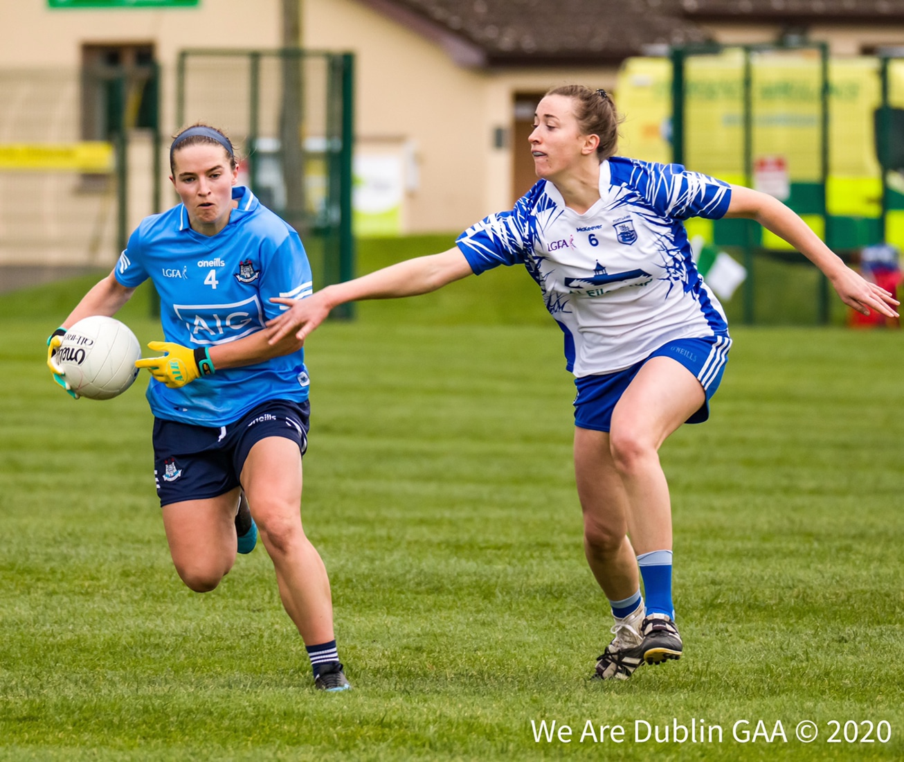 Dublin's Orla Nolan in action against Waterford last November, Nolan is one of five changes for Dublin as the two sides meet again this weekend in a Championship Round 2 fixture.