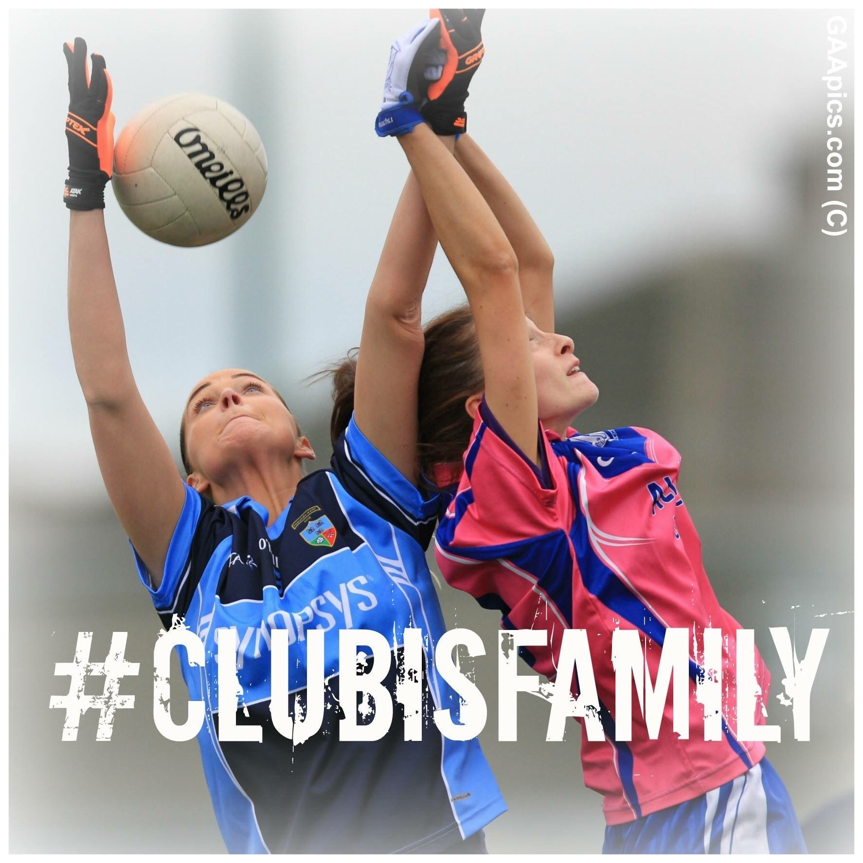Two ladies footballers jump for a ball during a club game, Club action takes centre stage this evening with a host of Junior Championship Round 2 fixtures.