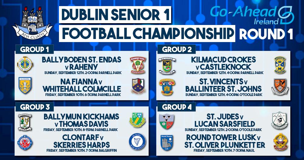Dublin senior 1 Football Championship