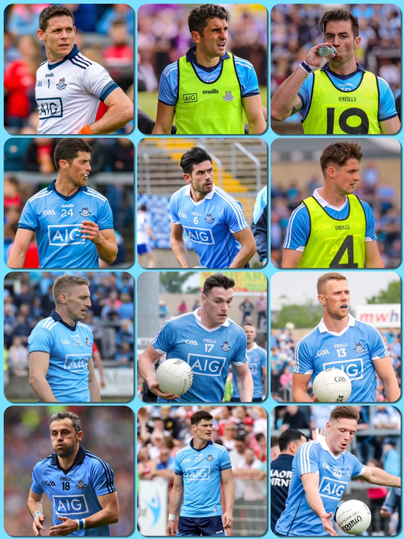 Player pics of the recent retirements from the Dublin squad