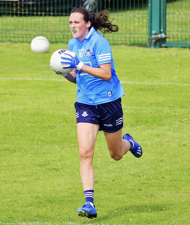 Dublin's Hannah Tyrrell in action against Waterford in the All Ireland Championship group stage.